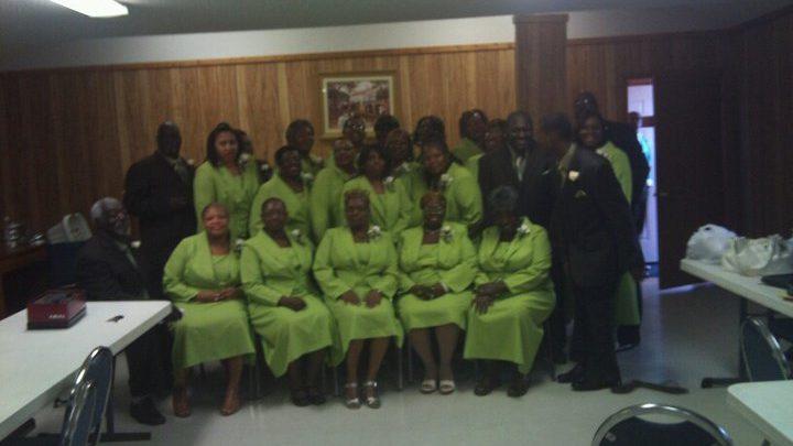 New St. James Senior Choir in 2011