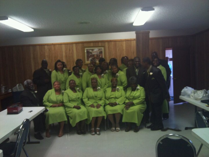 New St. James Senior Choir in 2011
